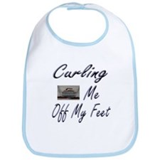 Curling Swept Me Off My Feet Bib
