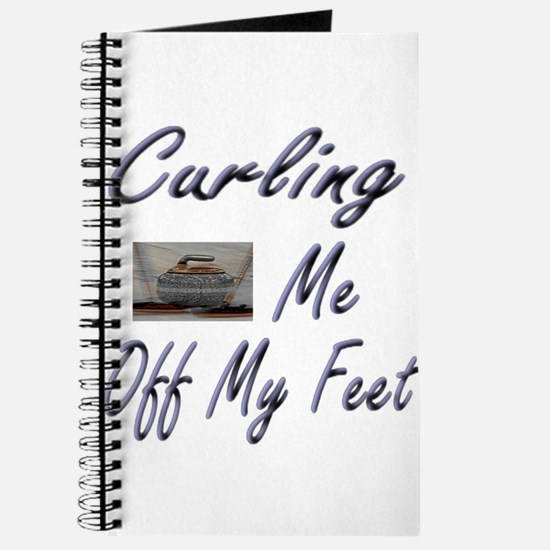 Curling Swept Me Off My Feet Journal