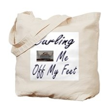 Curling Swept Me Off My Feet Tote Bag