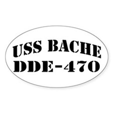 USS BACHE Decal