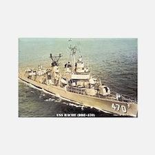 USS BACHE Rectangle Magnet