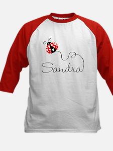 Ladybug Sandra Kids Baseball Jersey