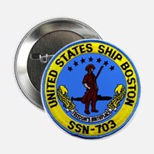 USS Boston SSN 703 Button