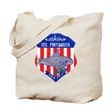 USS Portsmouth SSN 707 Tote Bag