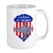 USS Portsmouth SSN 707 Mug