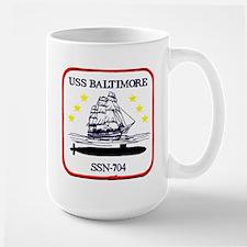USS Baltimore SSN 704 Mug