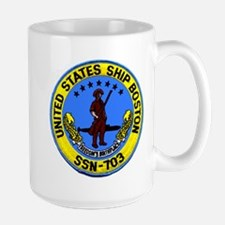 USS Boston SSN 703 Mug