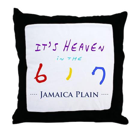 Jamaica Plain Throw Pillow