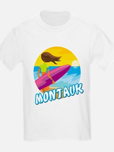 Surf Girl Montauk T-Shirt