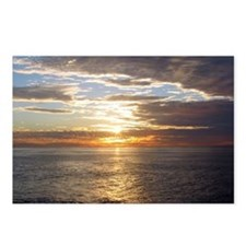 w1se SUNSET Diego Postcards (Package of 8)
