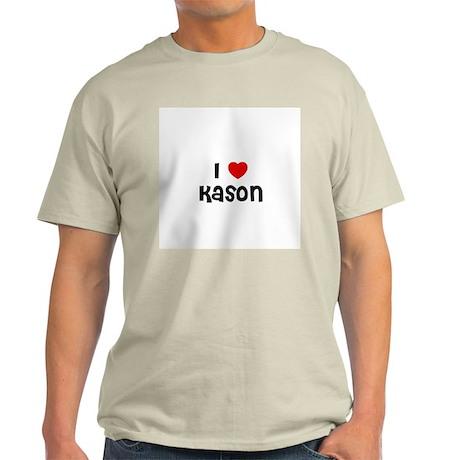 I * Kason Ash Grey T-Shirt