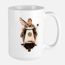 Scooter Diva Large Mug