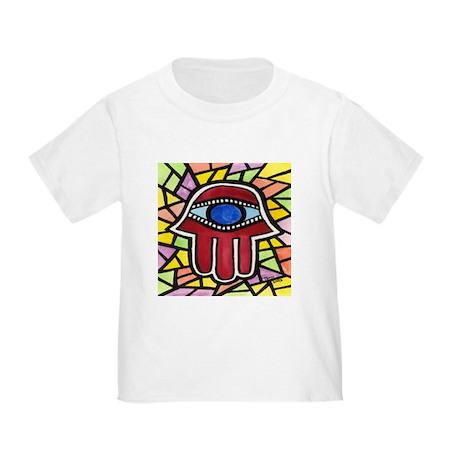 Yellow Sunshine Hamsa Toddler T-Shirt