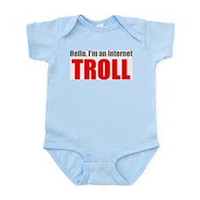 Unique My troll Infant Bodysuit