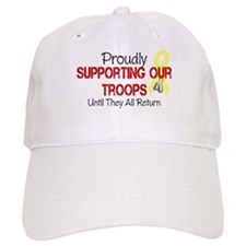 Proudly Supporting Our Troops Baseball Cap