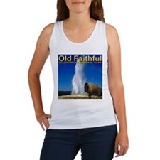 Old Faithful Yellowstone Nati Women's Tank Top