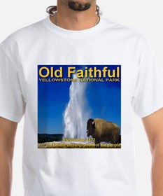 Old Faithful Yellowstone Nati Shirt