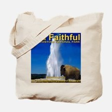 Old Faithful Yellowstone Nati Tote Bag