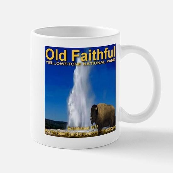 Old Faithful Yellowstone Nati Mug