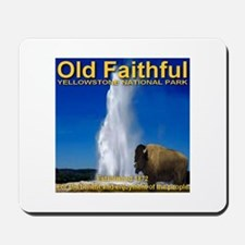 Old Faithful Yellowstone Nati Mousepad