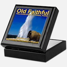 Old Faithful Yellowstone Nati Keepsake Box