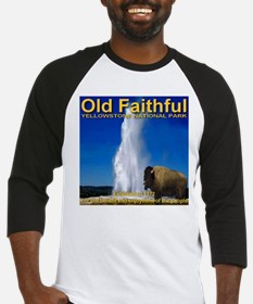 Old Faithful Yellowstone Nati Baseball Jersey