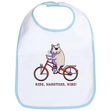 Ride, Hamsters, Ride! Bib