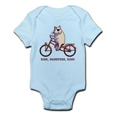 Ride, Hamsters, Ride! Infant Bodysuit
