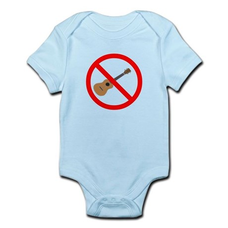 ukulele sucks Infant Bodysuit