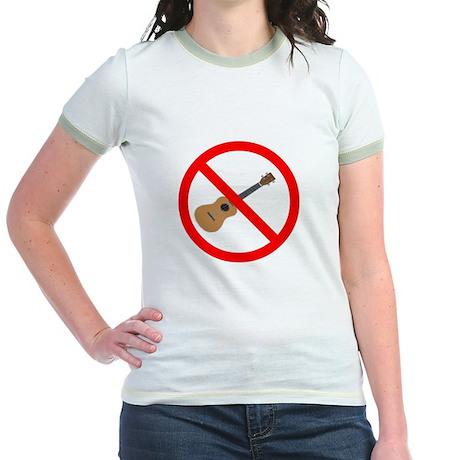 ukulele sucks Jr. Ringer T-Shirt