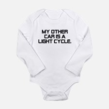 LIght Cycle Long Sleeve Infant Bodysuit
