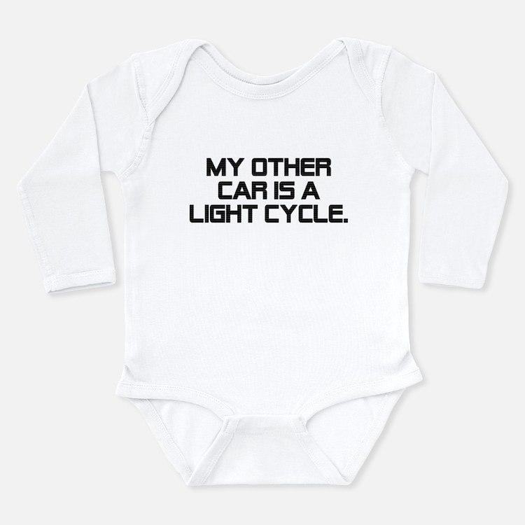 LIght Cycle Long Sleeve Infant Bodysuit
