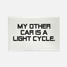 LIght Cycle Rectangle Magnet