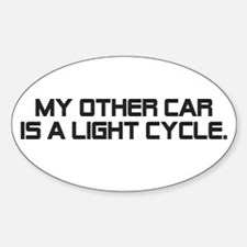 LIght Cycle Sticker (Oval)