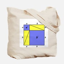 Pythagorean Theorem w/back Tote Bag