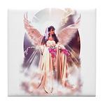 Angel Bride Tile Coaster