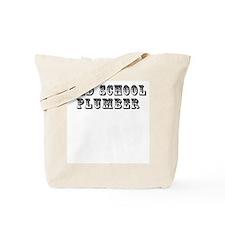 Old School Plumber Tote Bag