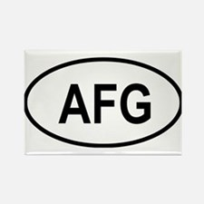 Cute Central asia Rectangle Magnet (100 pack)