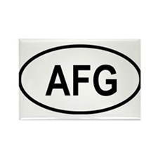 Funny Asia central Rectangle Magnet