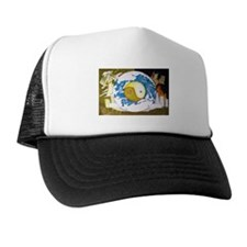 Unique Yin yang Trucker Hat