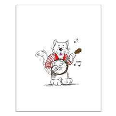 Catoons™ Banjo Cat Posters