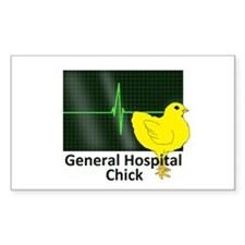 General Hospital Chick Decal
