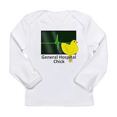 General Hospital Chick Long Sleeve Infant T-Shirt