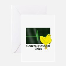 General Hospital Chick Greeting Card