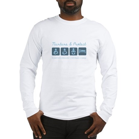 Attachment Parenting Sign10 Long Sleeve T-Shirt