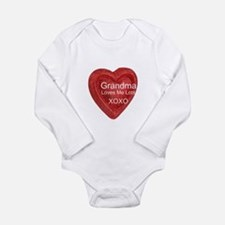 Grandma Loves Me Baby Suit
