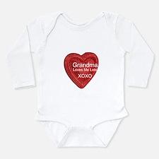 Grandma Loves Me Long Sleeve Infant Bodysuit