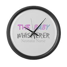 Cardiac Nurse Large Wall Clock
