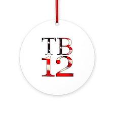 TB 12 Ornament (Round)