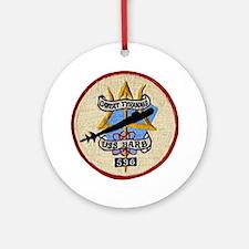 USS BARB Ornament (Round)